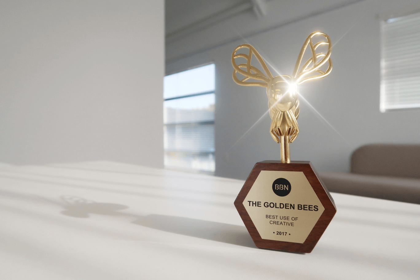 Golden Bee Award for Best Use of Creative